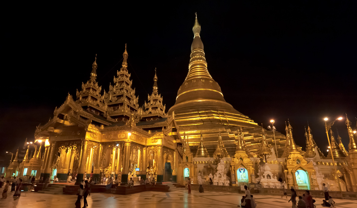 Yangon Myanmar  city photo : Shwedagon Pagoda in Yangon, Myanmar. © A.Lwin Digital